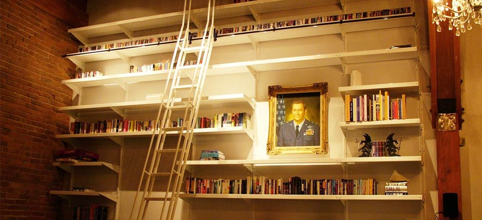 Library Shelving by E-Z Shelving Systems, Inc.