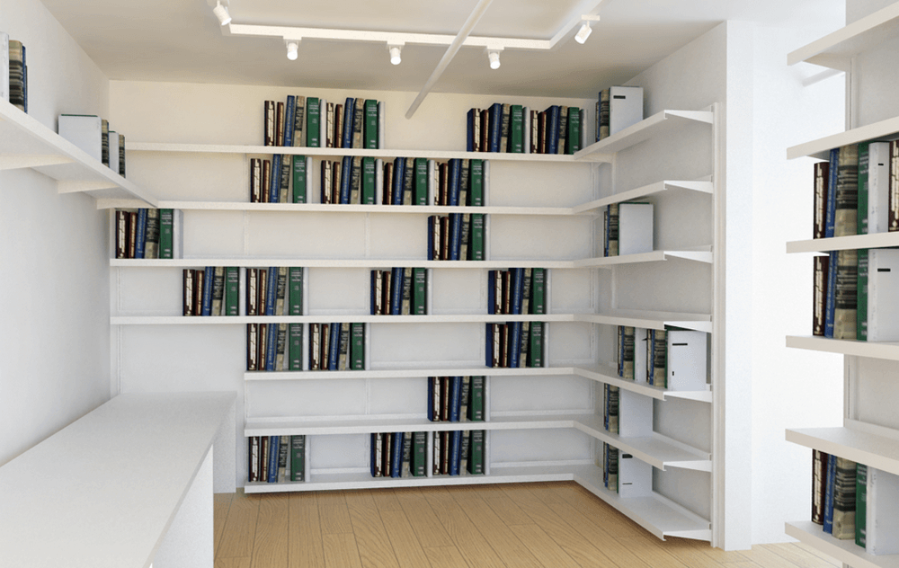 Colored Shelves ⋆ Shelving Systems by E-Z Shelving Systems ...
