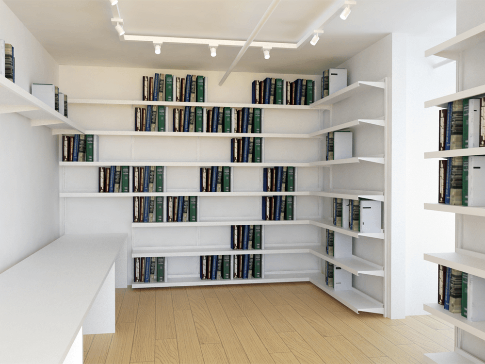 Home Library Shelving ⋆ Shelving Systems By E Z Shelving