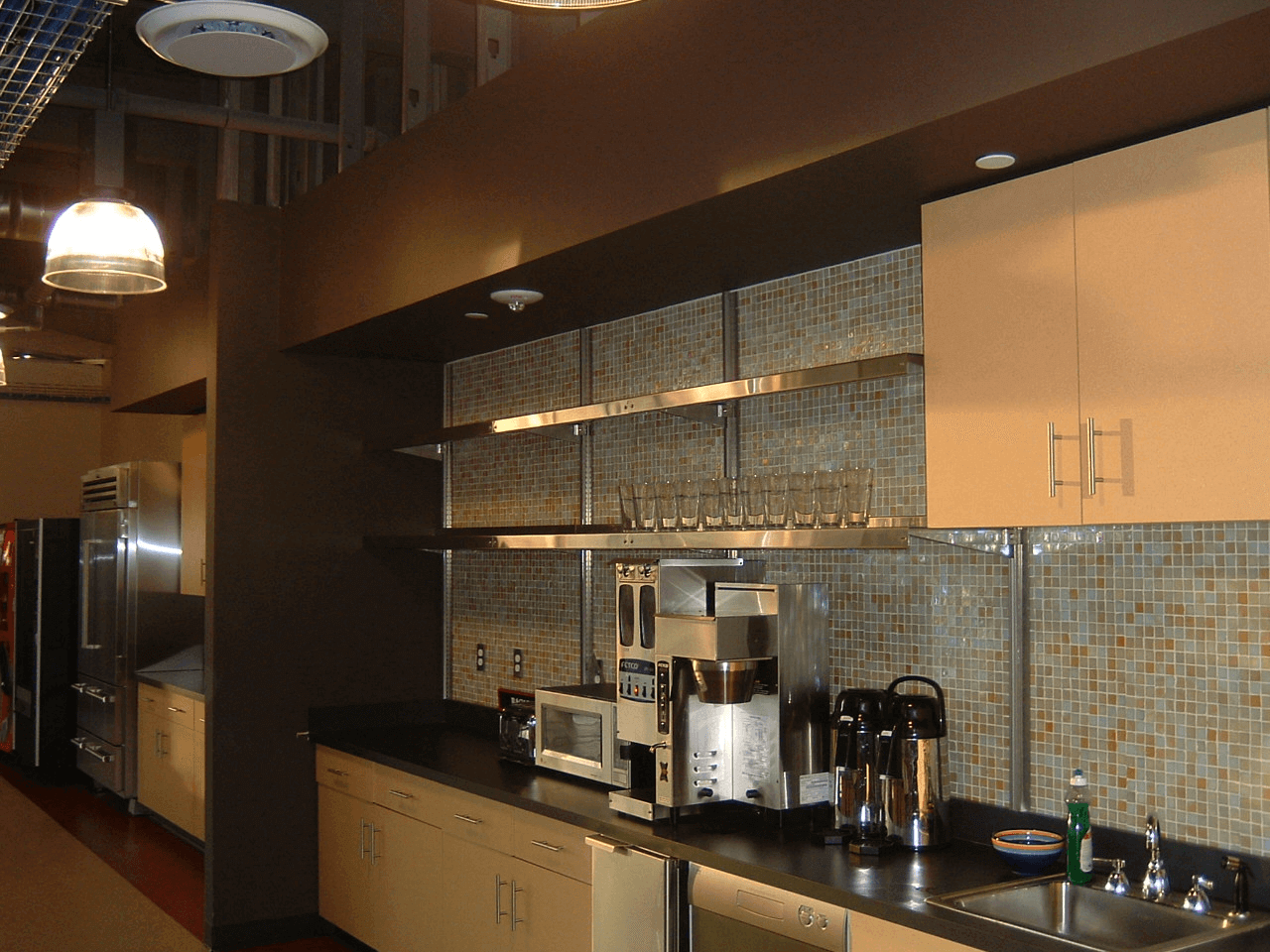 Office Kitchen Shelving by E-Z Shelving Systems