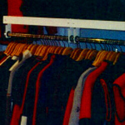 Garment Storage Shelving by E-Z Shelving Systems, Inc.