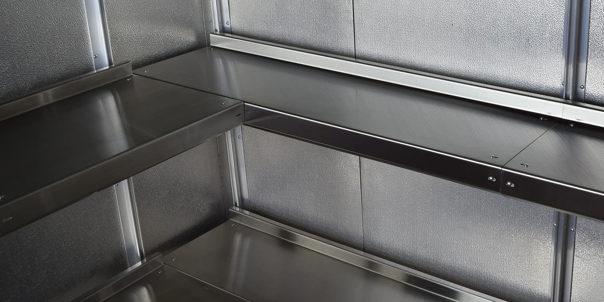 Metal Shelves By E Z Shelving Systems Inc