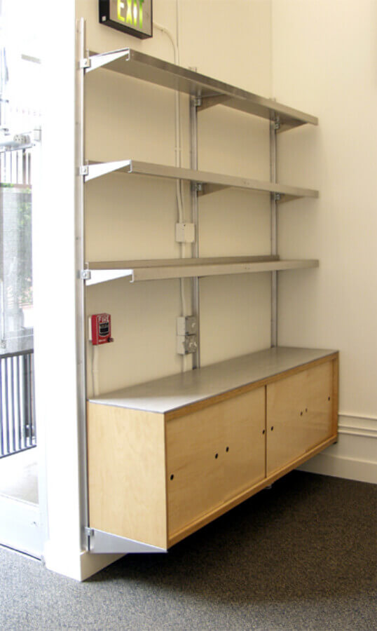 Nook Shelving by E-Z Shelving Systems, Inc.