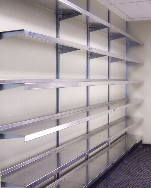 Office Storage Shelving Systems by E-Z Shelving Systems, Inc.