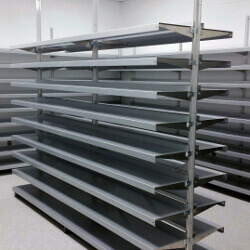 Freestanding Shelving by E-Z Shelving Systems, Inc.