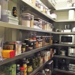 Aluminum Pantry Shelving by E-Z Shelving Systems, Inc.