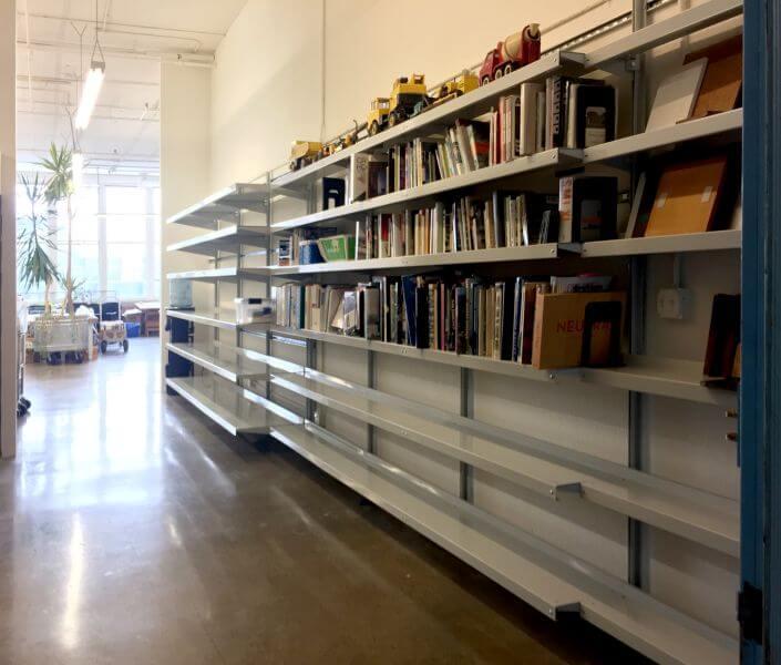 Architect Library Various Shelf Depths E-Z Shelving Systems