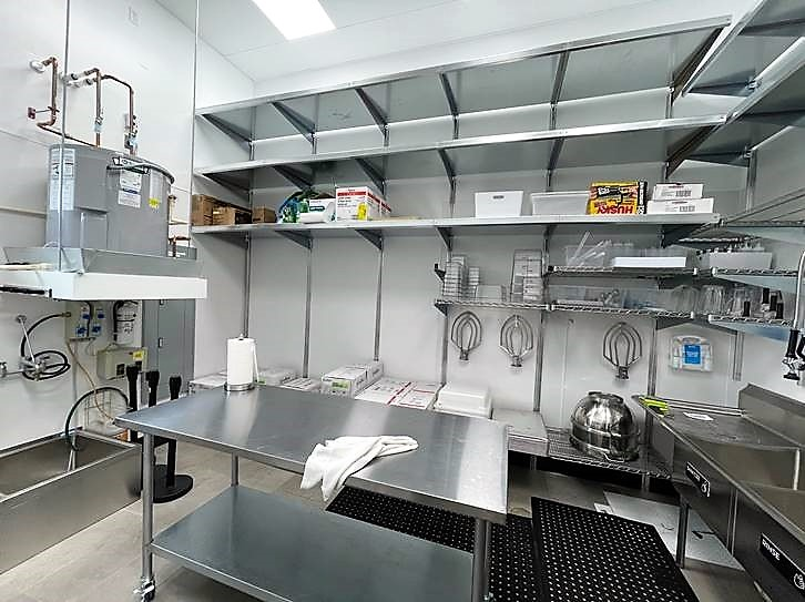 Commercial Kitchen Shelving System Dish Drying Shelves