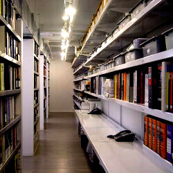 Custom Library and Media Storage Shelving by E-Z Shelving Systems