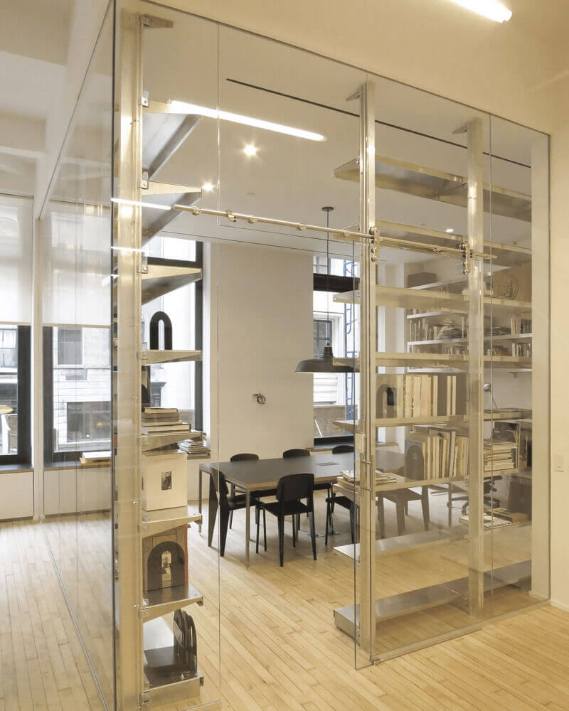Freestanding Room Partition Shelving by E-Z Shelving Systems, Inc.