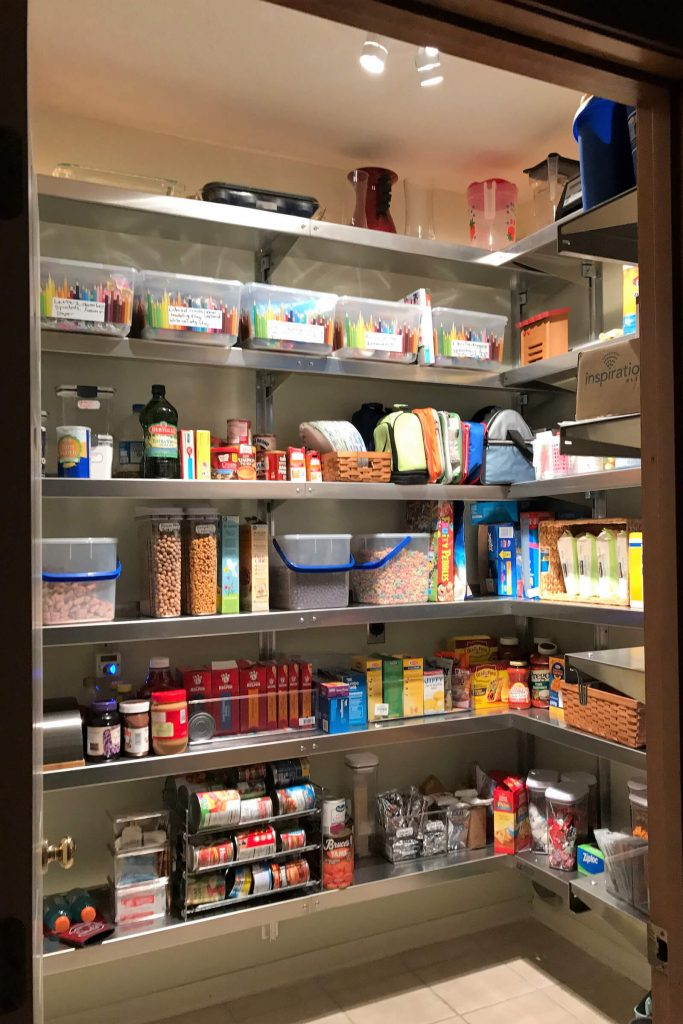 Kitchen Pantry Shelving by E-Z Shelving Systems