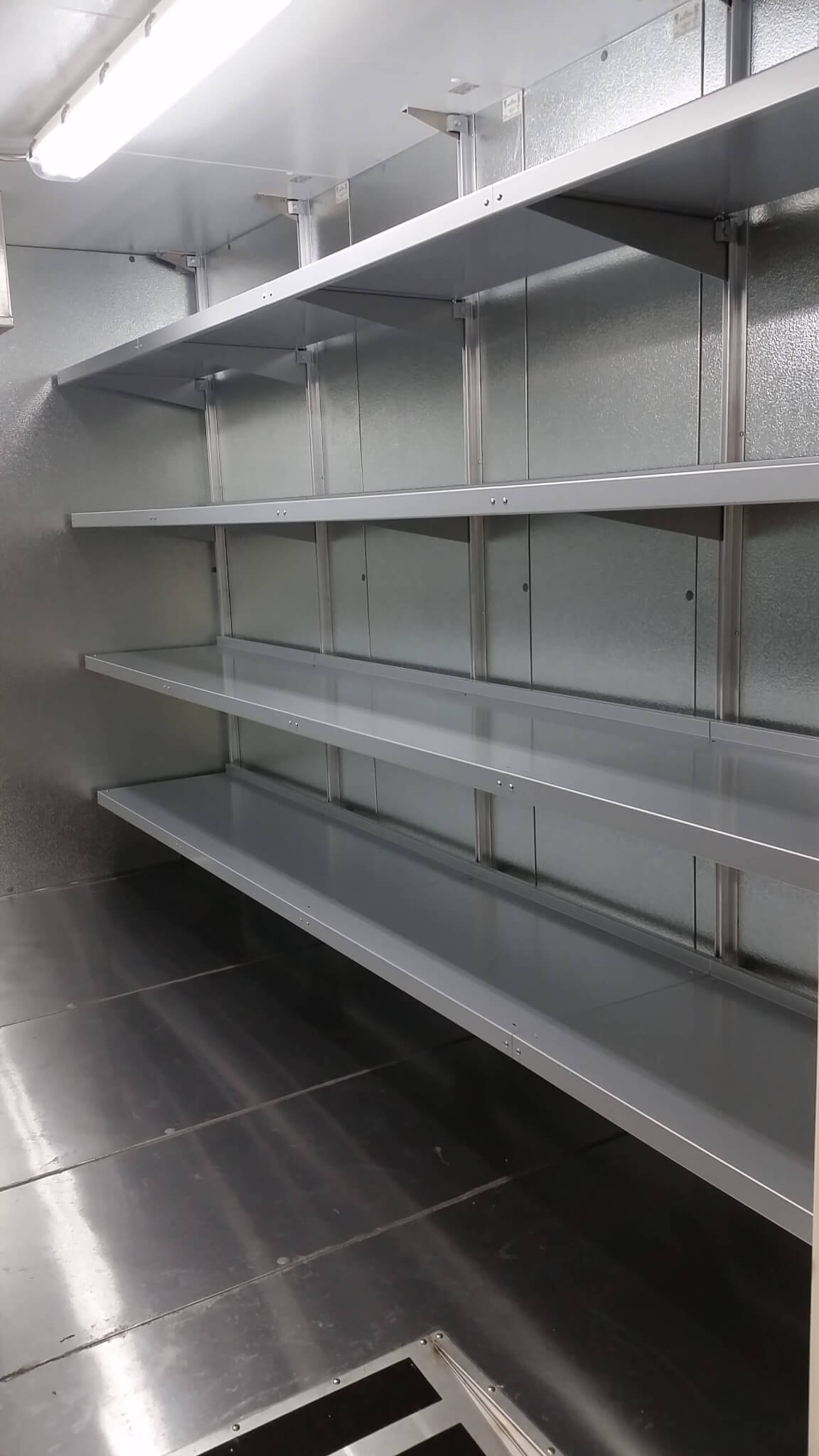 Mortuary Shelving by E-Z Shelving Systems, Inc.