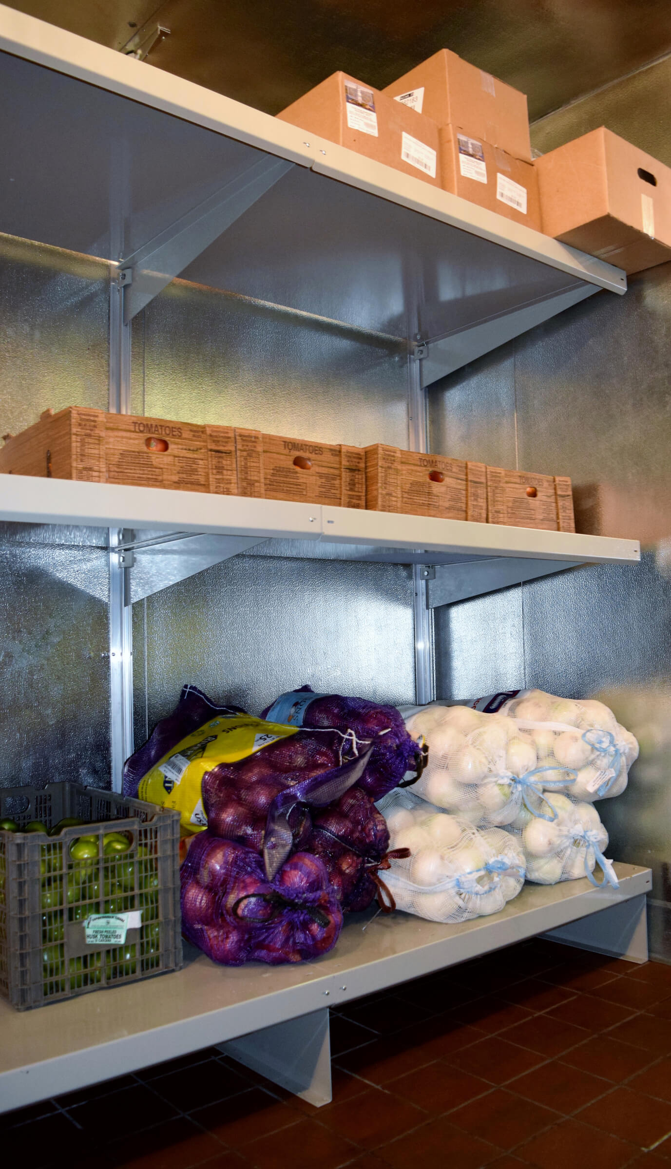 Heavy Duty Walk In Cooler Shelving ⋆ Shelving Systems By E