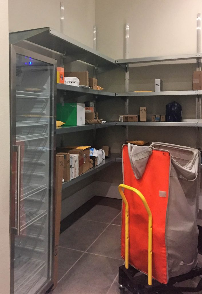 Package Room Shelving Systems by E-Z Shelving Systems