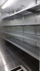 Refrigerated Storage Shelving for Laboratories
