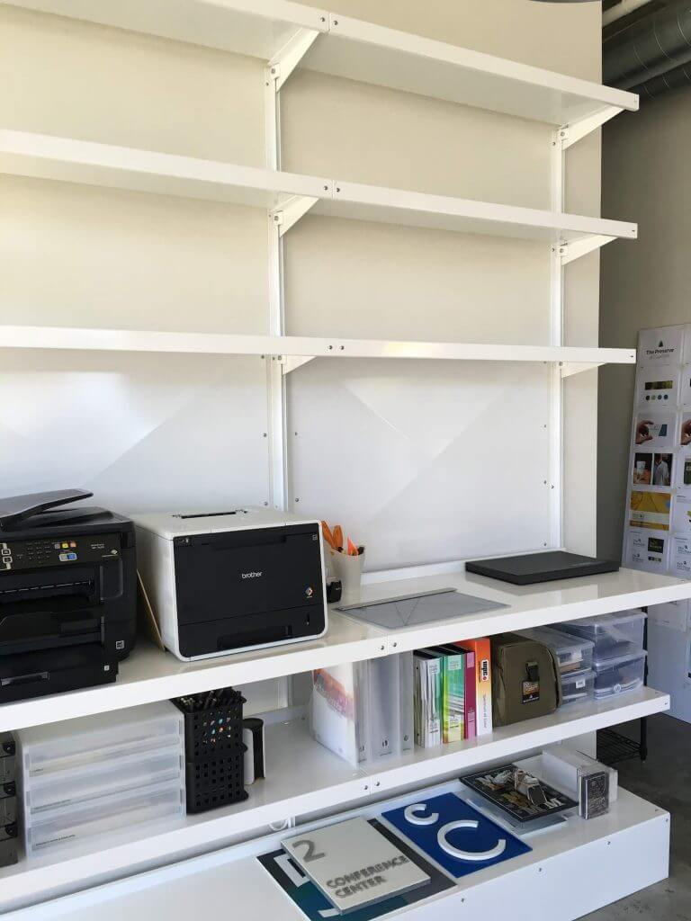 Standing Workstation by E-Z Shelving Systems