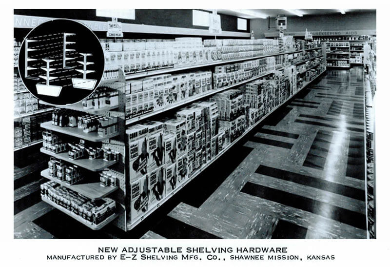 Vintage Advertising - E-Z Shelving Systems, Inc.