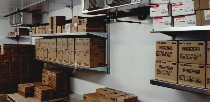 Shelving for Walk-In Coolers by E-Z Shelving Systems, Inc.