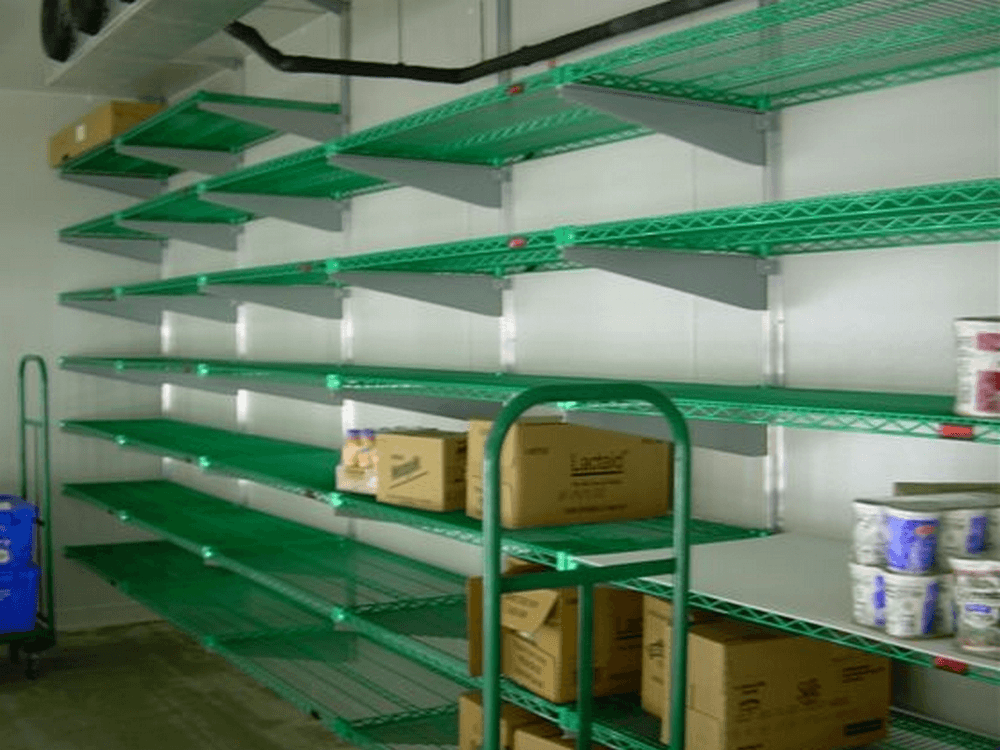 Walk In Cooler Shelving By E Z Shelving Systems Inc