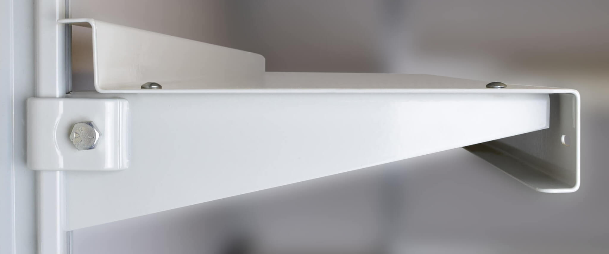 Heavy Duty Shelving Brackets in a Variety of Finishes