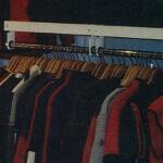 Wall-Mounted Garment Rack