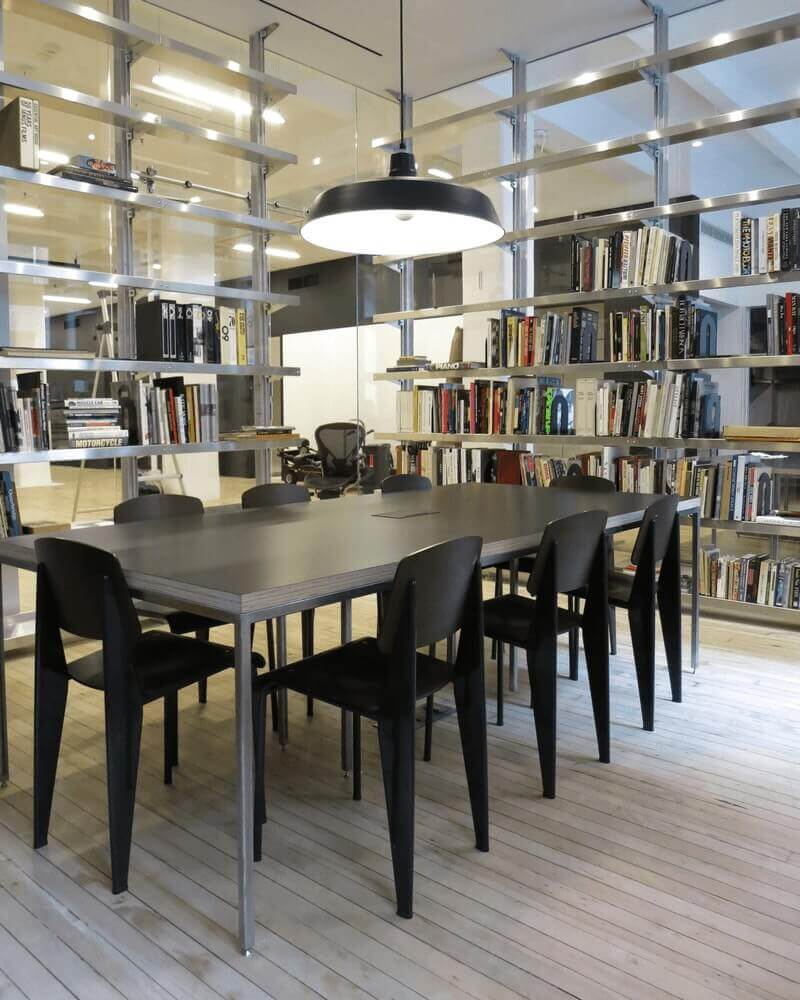 Aluminum Library Shelving by E-Z Shelving Systems, Inc.